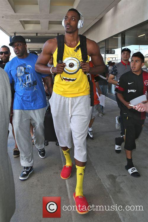 Dwight Howard at Los Angeles International Airport (LAX)