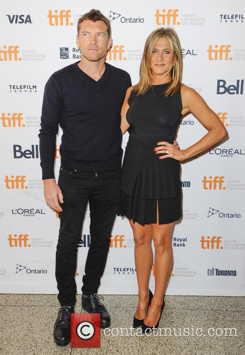 Jennifer Aniston and Sam Worthington