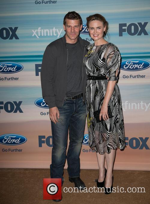 David Boreanaz and Emily Deschanel 10