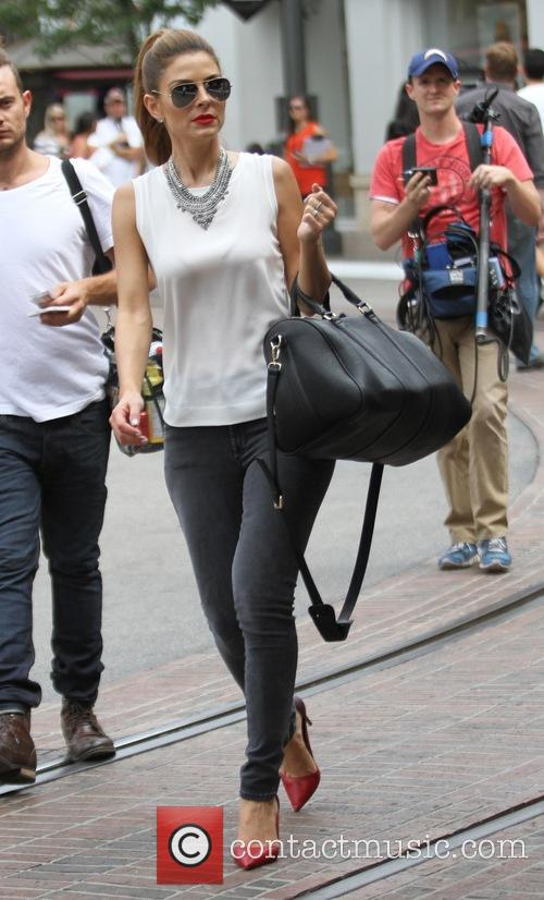 Maria Menounos at The Grove