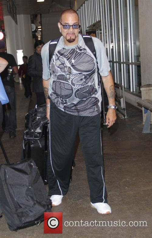 Sinbad at Los Angeles International Airport