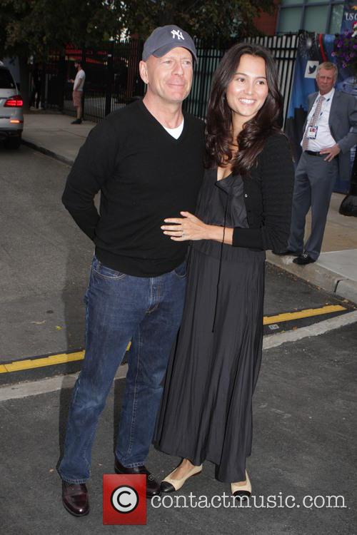 Bruce Willis and Wife Emma Herning 2