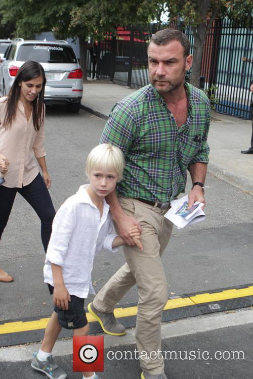 Liev Schreiber, Kids Alexander and Samuel 1