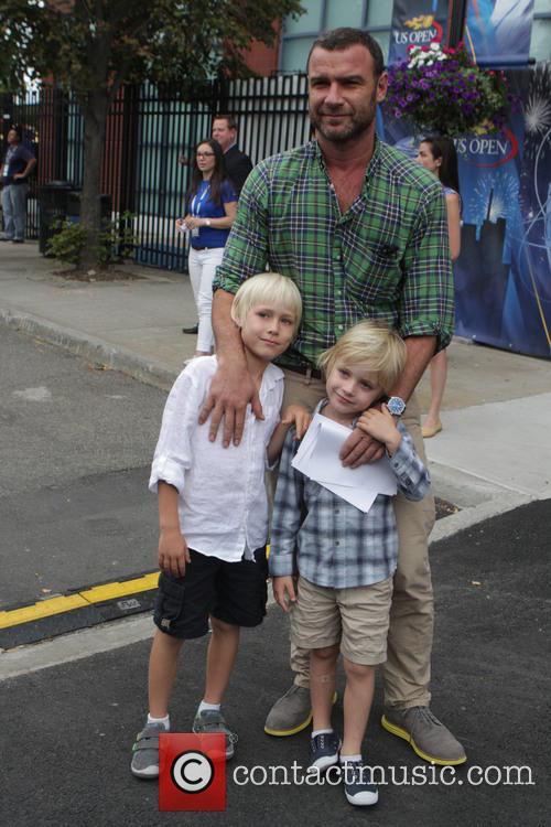 Liev Schreiber, Kids Alexander and Samuel 2
