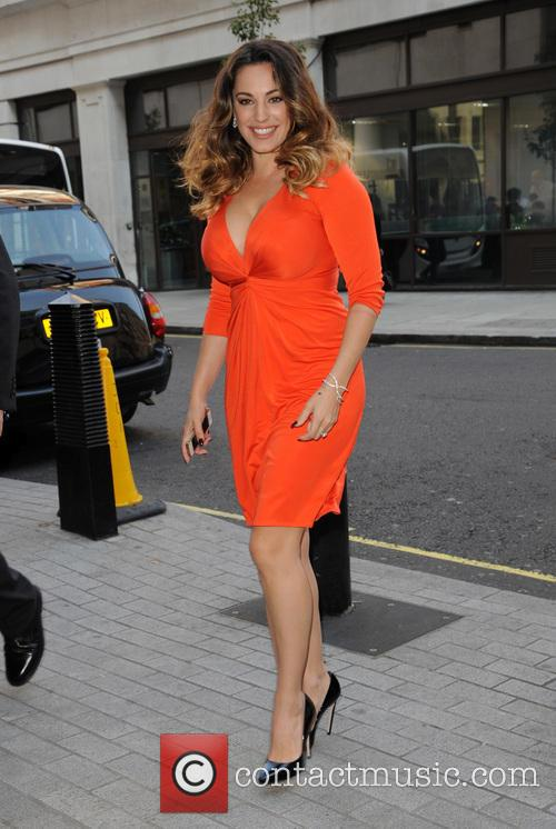 Kelly Brook pictured at Radio 1