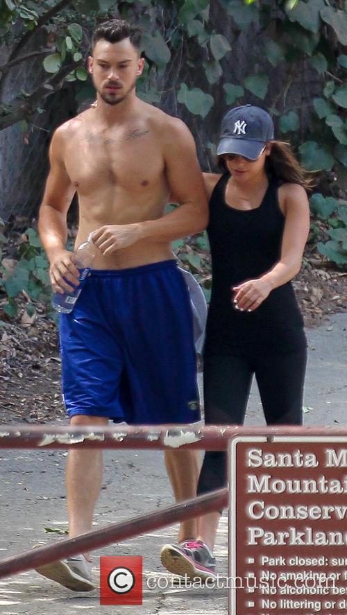 Lea Michele and Matthew Paetz 3