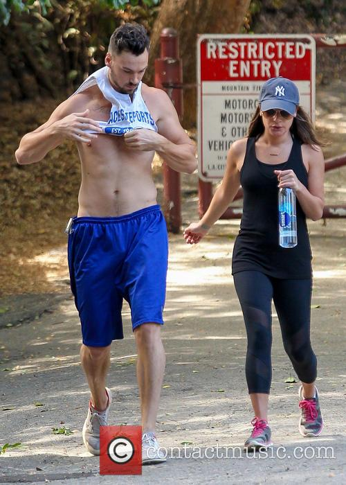 Lea Michele and Matthew Paetz 8