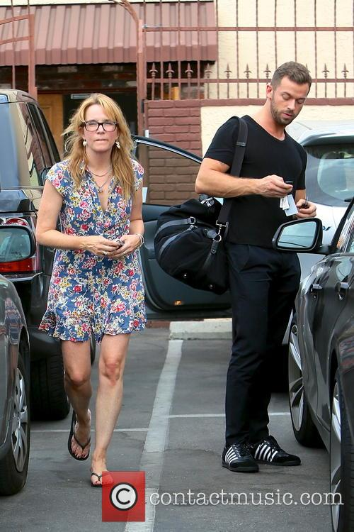 Lea Thompson and Artem Chigvintsev 11