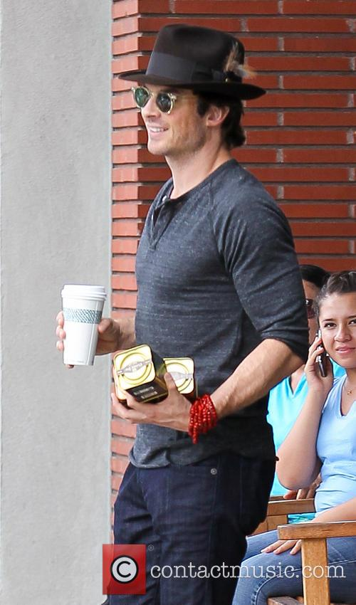 Nikki Reed and Ian Somerhalder go out for...