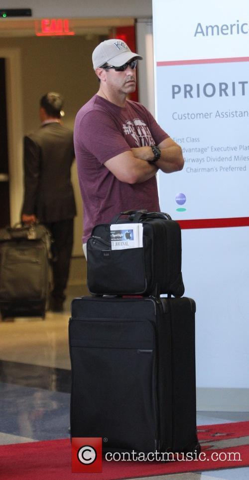Rob Riggle at Los Angeles International Airport (LAX)