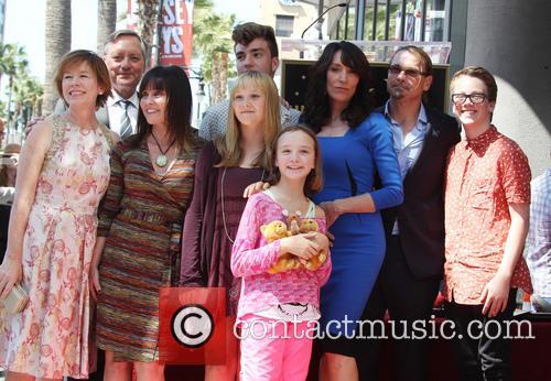 Katey Sagal, Kurt Sutter, Dayton Callie, Esme Louise Sutter, Jackson James White, Sarah Grace White and Ruby Jean White 3
