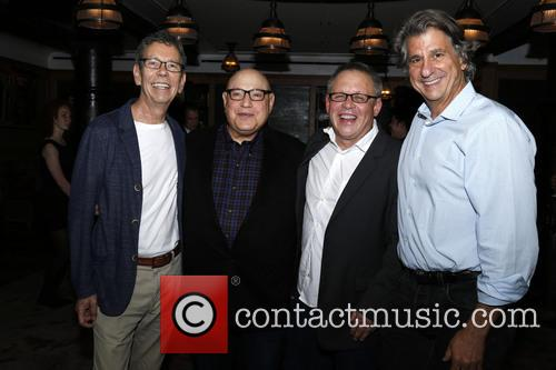 Bill Russell, Henry Krieger, Bill Condon and David Rockwell 2