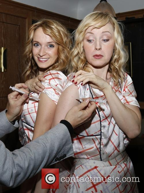 Emily Padgett and Erin Davie 2