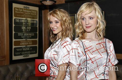 Emily Padgett and Erin Davie 1