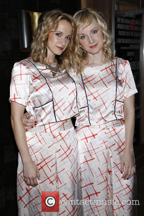 Emily Padgett and Erin Davie 4