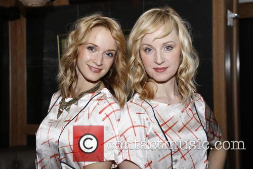 Emily Padgett and Erin Davie 6