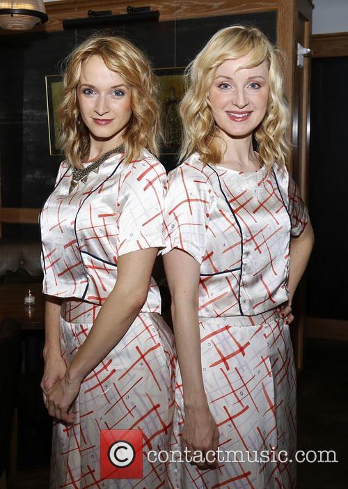 Emily Padgett and Erin Davie 8