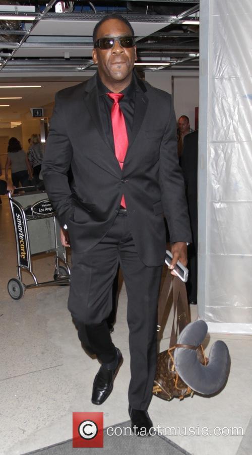 Booker Huffman at Los Angeles International Airport (LAX)