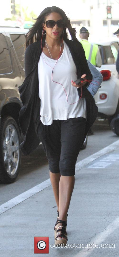 Cookie Johnson at Los Angeles International Airport (LAX)