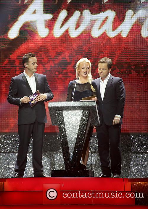Anthony Mcpartlin, Declan Donnelly, Georgie Porter and Ant & Dec 2