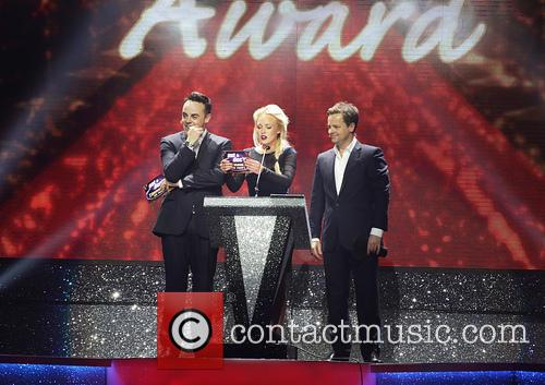 Anthony Mcpartlin, Declan Donnelly, Georgie Porter and Ant & Dec 11