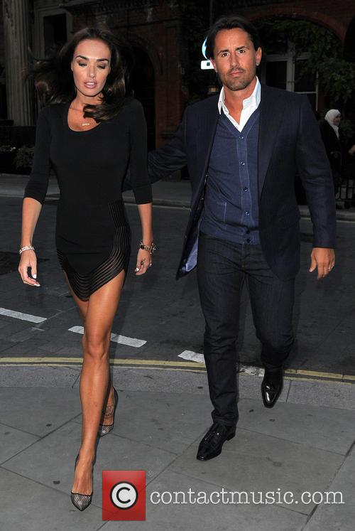 Tamara Ecclestone and Jay Rutland go out for...
