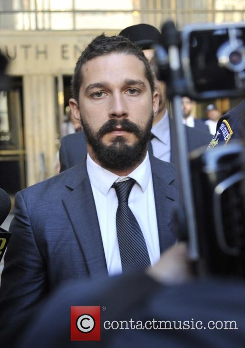 Shia LaBeouf pleads guilty in a New York...