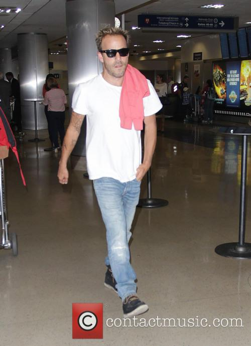 Stephen Dorff at Los Angeles International Airport
