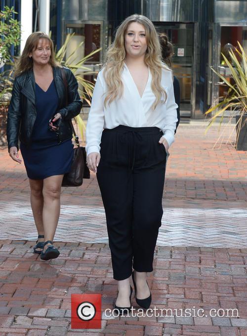 Ella Henderson leaves the Capital Radio studios