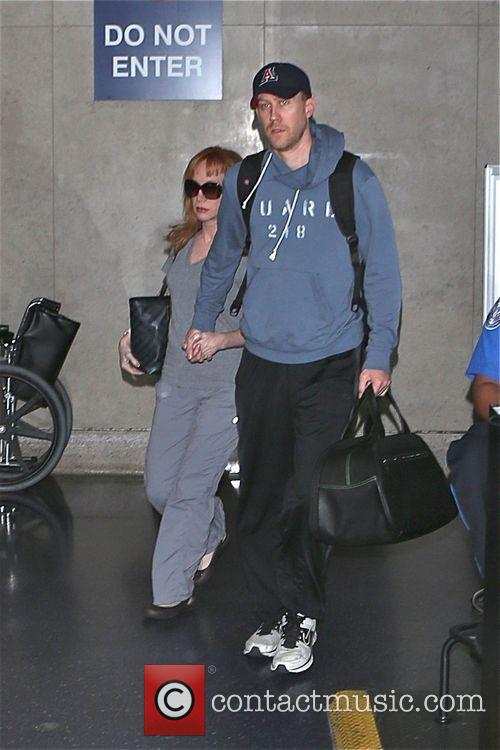 Kathy Griffin arrives at Los Angeles International Airport