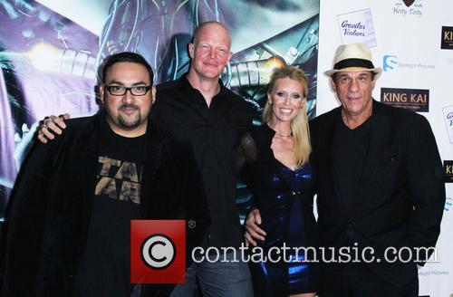 Christian Sesma, Derek Mears, Rochelle Vallese and Robert Davi 1