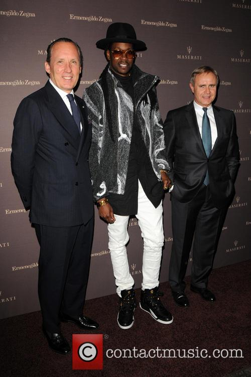 Gildo Zegna, 2 Chainz and Harald Wester
