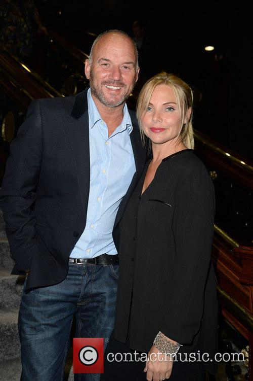 Mark Womack and Samantha Womack