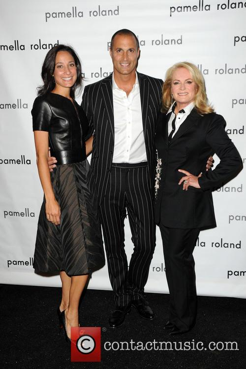 Cristen Barker, Nigel Barker and Pamella Rolland 2