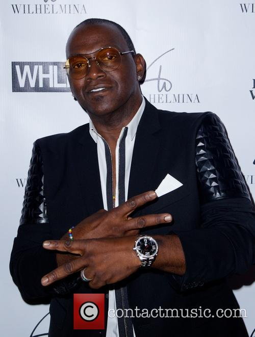 Randy Jackson at New York Fashion Week