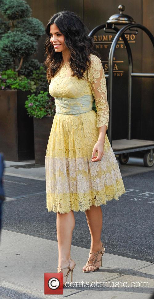 Jenna Dewan leaving Trump SoHo hotel