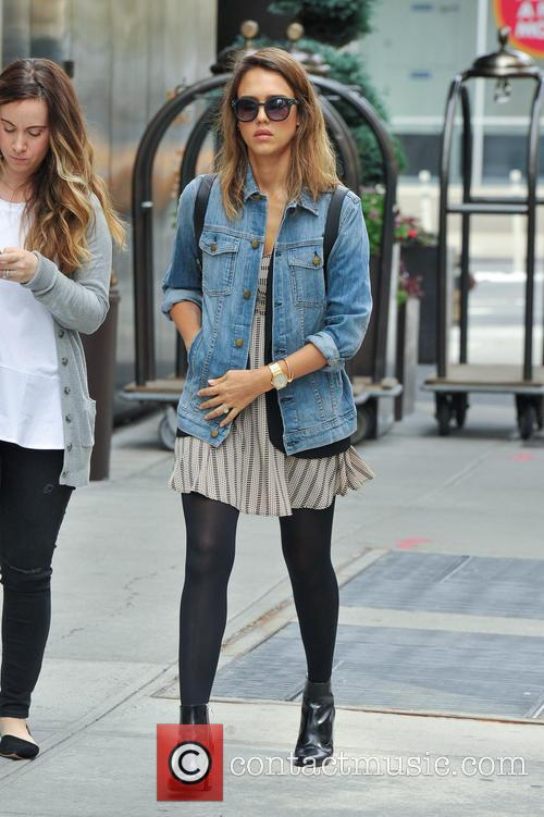 Jessica Alba out and about in New York...