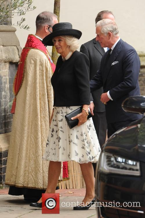Camilla Duchess Of Cornwall, The Prince Of Wales and Prince Charles 2