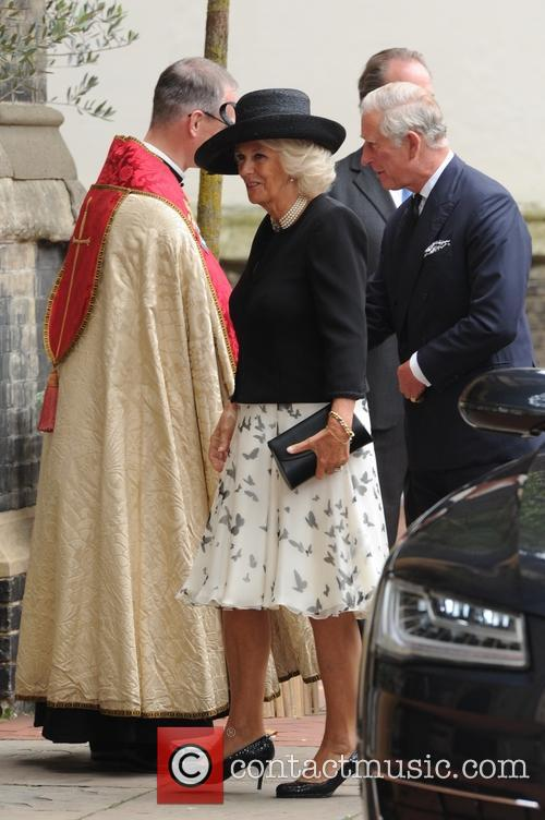 Camilla Duchess Of Cornwall, The Prince Of Wales and Prince Charles 3