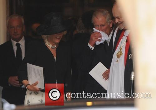 Camilla Duchess Of Cornwall, The Prince Of Wales and Prince Charles 1