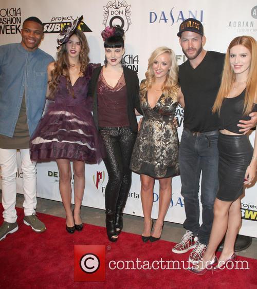 Ussell Westbrook, Winning Dress, Designer, Nastia Liukin, Johnny Wujek and Bella Thorne 1