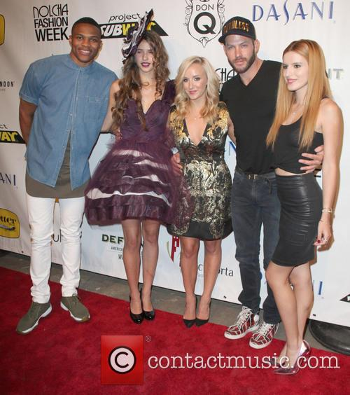 Ussell Westbrook, Winning Dress, Designer, Nastia Liukin, Johnny Wujek and Bella Thorne 3