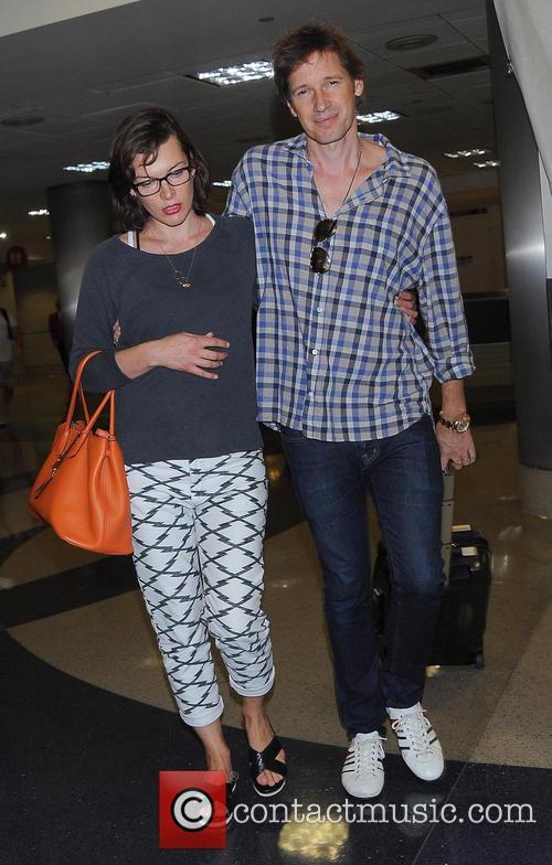 Milla Jovovich and Paul Anderson 4