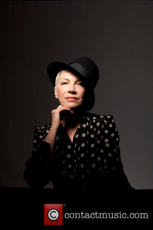 Annie Lennox poses in a press shot for...