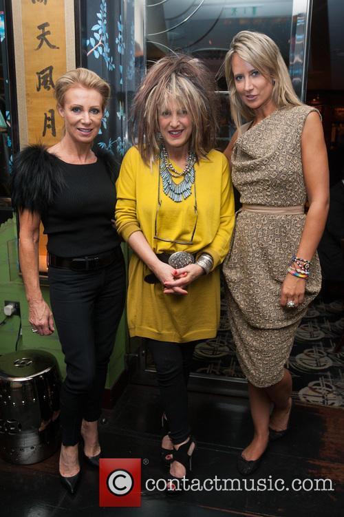 Karen Millen, Elizabeth Emmanuel and Lady Victoria Hervey