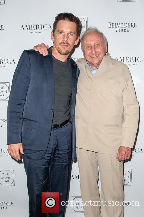 Ethan Hawke and Seymour Bernstein 3