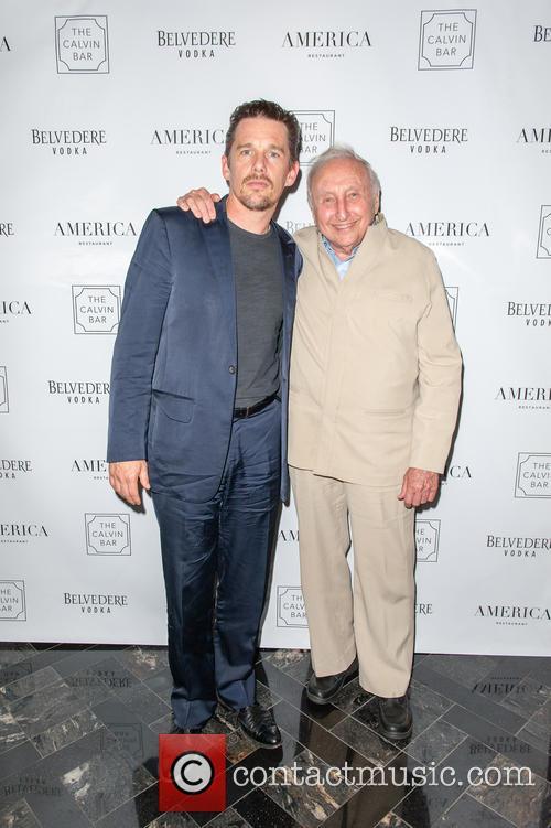 Ethan Hawke and Seymour Bernstein 4