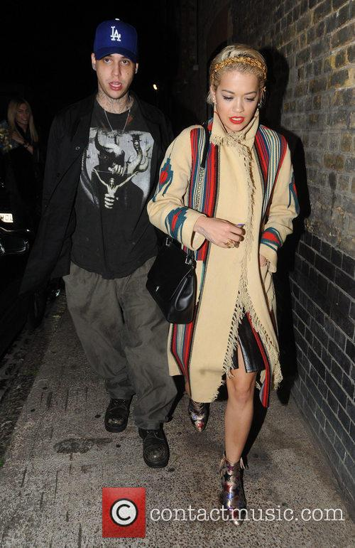 Rita Ora and Ricky Hilfiger 2