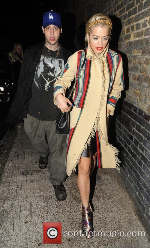 Rita Ora and Ricky Hilfiger 1