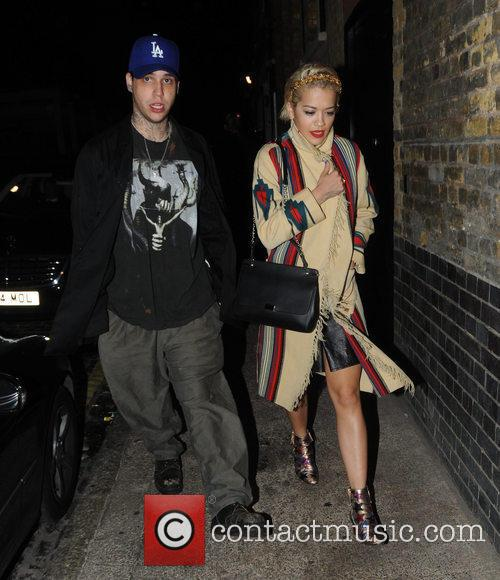 Rita Ora and Ricky Hilfiger 8